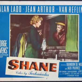 'Shane' movie poster