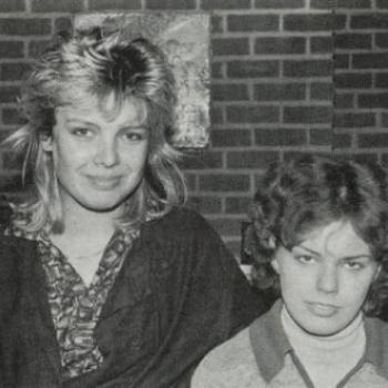 Kim and Ruth Shearman, circa 1982
