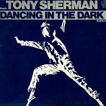 Tony Sherman's 'Dancing in the dark' single cover