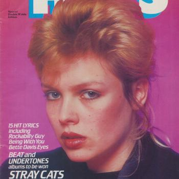 First Smash Hits cover featuring Kim Wilde, May 28, 1981
