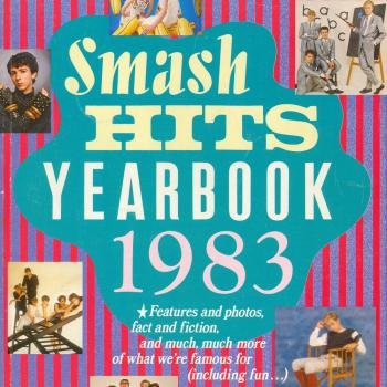 'Smash Hits Yearbook 1983' book cover