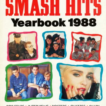 'Smash Hits Yearbook 1988' book cover