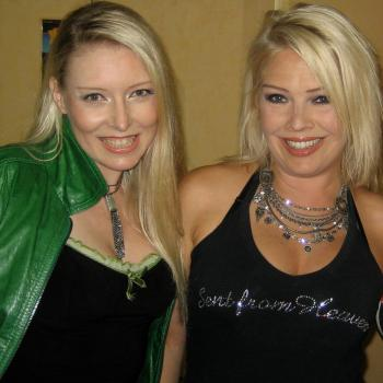 Kim Wilde and Sabrina in Berlin, July 5, 2008