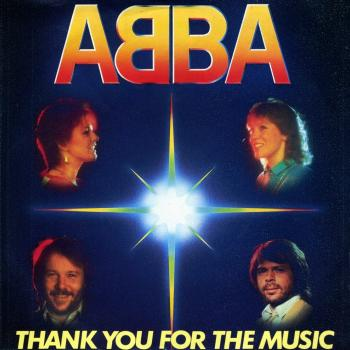 'Thank You for the Music' by Abba, single sleeve