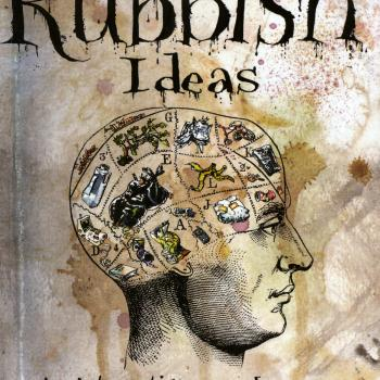 'The book of rubbish ideas' book cover
