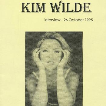 'The complete Kim Wilde interview' book cover