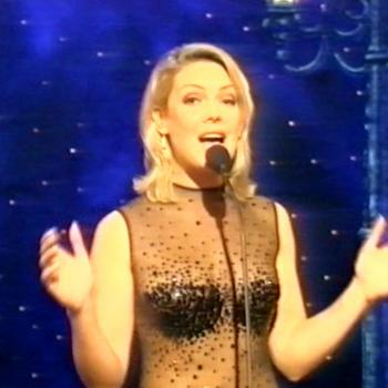 Kim performing 'They Can't Take That Away From Me' on Showstoppers, BBC (UK), 19 November 1995