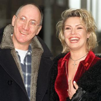 Kim Wilde and Pete Townshend, December 1995