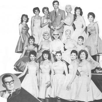 The Vernons Girls, with Joyce baker on front row left.