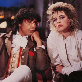 Kim Wilde and Laurent Voulzy in 1985