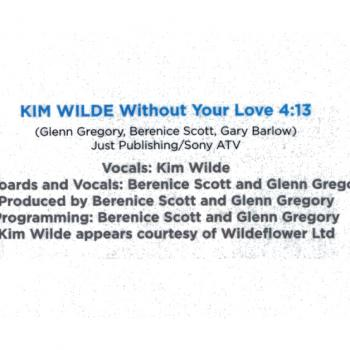 Without your love credits in the album 'Fly: songs inspired by the film Eddie the Eagle'