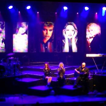 Kim, Ricky and Scarlett performing 'Wonderful life' live at Capitol, Hannover (Germany), March 14, 2012