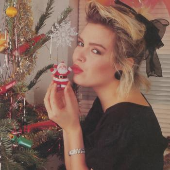1987: Christmas party with UK magazine No. 1