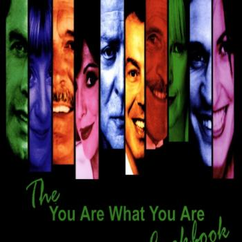 'You are what you are cookbook' book cover