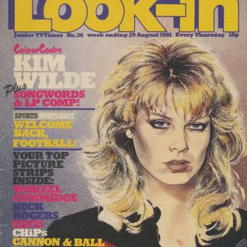 Look-In (UK), August 29, 1981