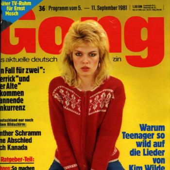 Gong (Germany), September 5, 1981