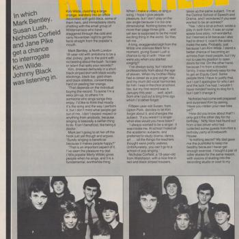 Kicks (UK), January 1982