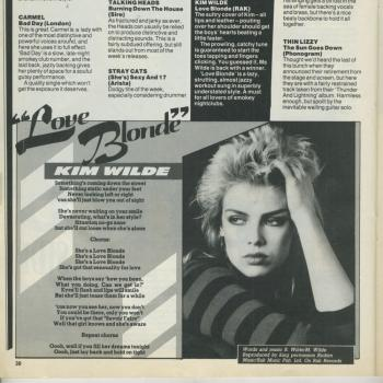 No. 1 (UK), July 30, 1983