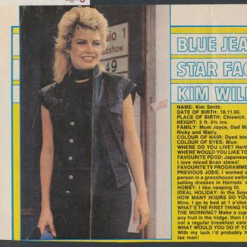 Blue Jeans (UK), October 29, 1983