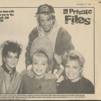 Record Mirror (UK), November 19, 1983