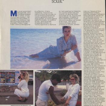 Paris Match (France), July 18, 1986
