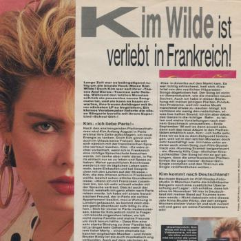 Pop/Rocky (Germany), July 1986