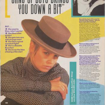 No. 1 (UK), April 11, 1987