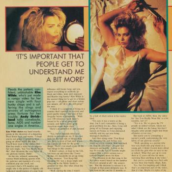 Record Mirror (UK), August 15, 1987