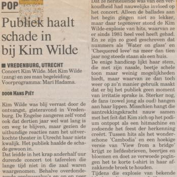 Haagsche Courant (Netherlands), February 5, 1994