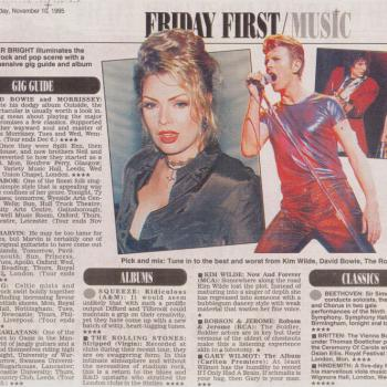 Daily Mail (UK), November 10, 1995
