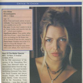 Daily Mail Weekend magazine (UK), November 18, 1995