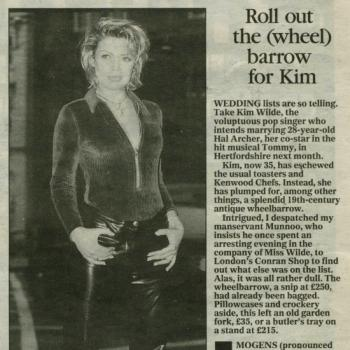 Daily Express (UK), August 2, 1996