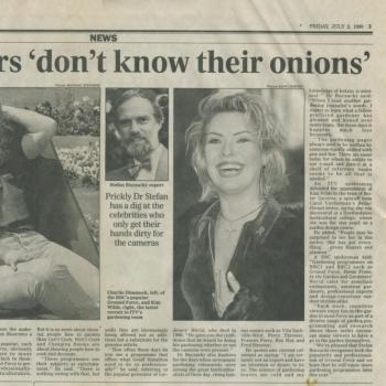 Daily Telegraph (UK), July 2, 1999