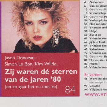 Vriendin (Netherlands), July 10, 2002