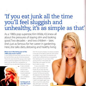 Healthy (UK), January 2004