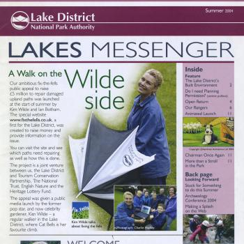 Lakes Messenger (UK), Summer 2004