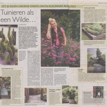 Telegraaf Woonkrant (Netherlands), May 26, 2007