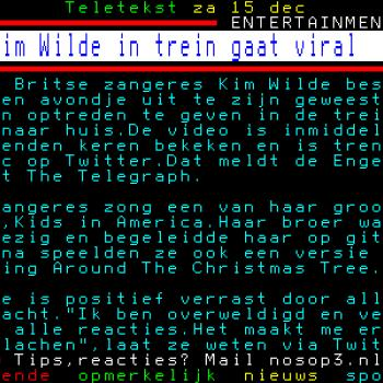 Teletekst (Netherlands), December 15, 2012