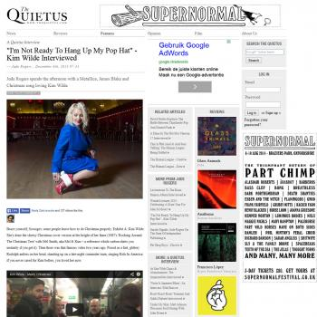 The Quietus (UK), December 6, 2013
