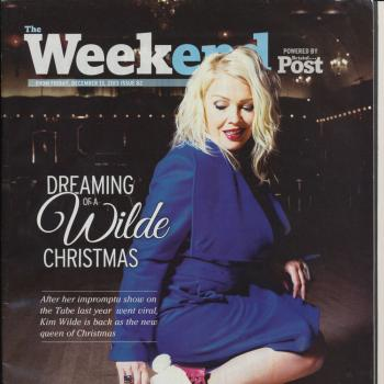 Bristol Post Weekend magazine (UK), December 14, 2013