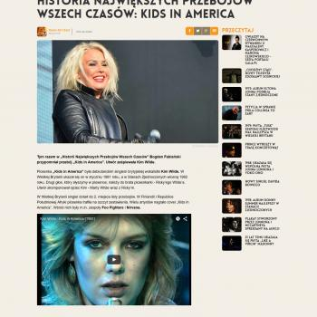 Radio Zet Gold website (Poland), November 13, 2015