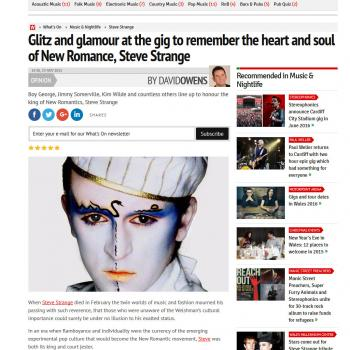 Wales Online website (UK), November 23, 2015