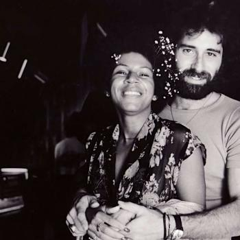 Dick Rudolph and Minnie Riperton