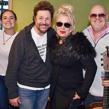 Michael Ball with Kim, Ricky, Scarlett Wilde & Neil Jones