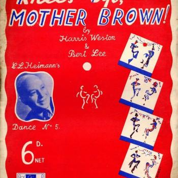 Sheet music for 'Knees up Mother Brown'