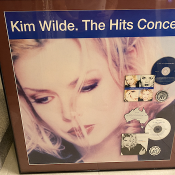 Australian award for the sales of 'The Singles Collection 1981-1993', auctioned in 2019