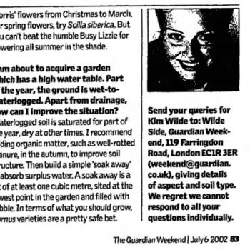 The Guardian (UK), July 6, 2002