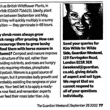 The Guardian (UK), September 28, 2002