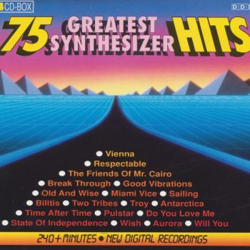 The 4CD set '75 greatest synthesizer hits'
