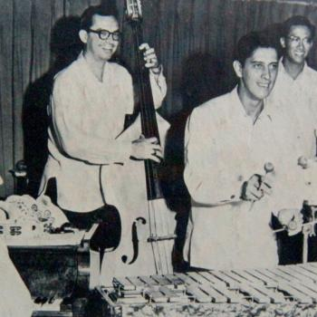 Arthur Lyman Group (Left to right: Allen Soares, John Kramer, Arthur Lyman, Harold Chang)